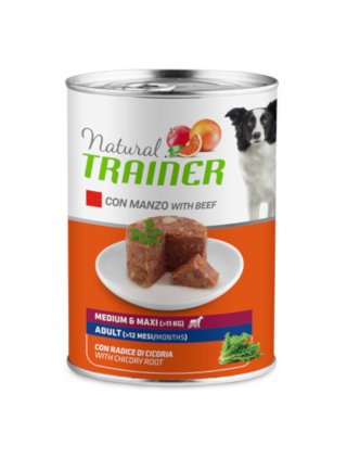 Trainer Natural Dog Adult Medium&Maxi umido 12 x 400g