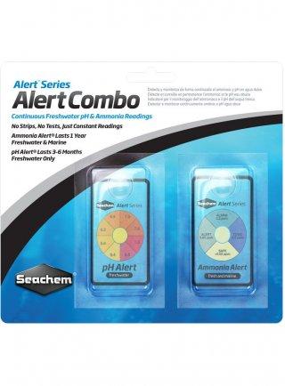 Seachem pH Alert Test combo Pack per pH e ammoniaca in acquario
