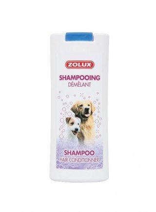 Zolux shampoo per cani scioglinodi 250 ml