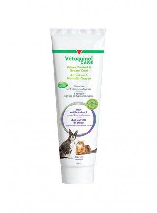 Vètoquinol Care shampoo per uso frequente antiodore e mantello grasso 275ml