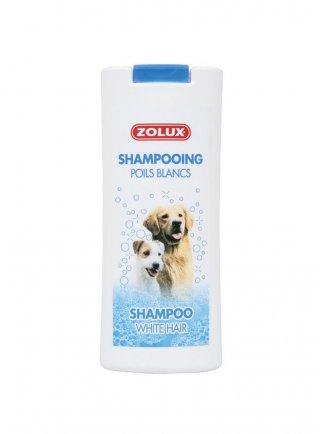 Zolux shampoo per cani con pelo bianco 250 ml