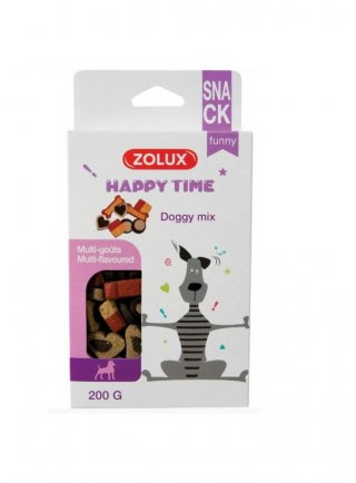 Zolux doggy mix snack golosi per cani 200 Gr