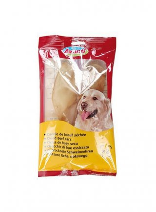 Zolux orecchie di manzo essiccato per cani Avanti x2