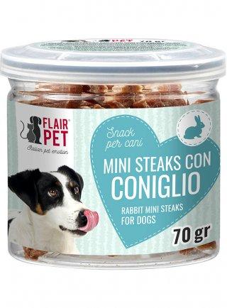 Flair pet mini steaks snack per cani di taglia piccola