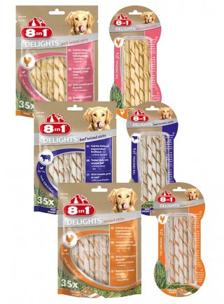 8in1 Snack cane Delights Twisted