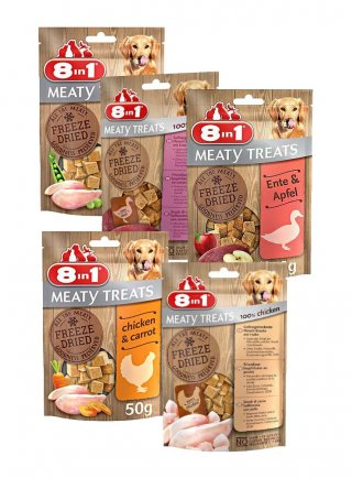 8in1 Snack cane Freeze Dried Dog Meaty Treats 50 g