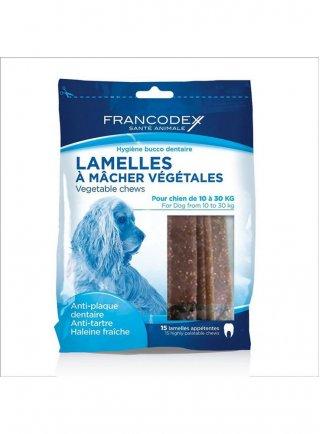 Zolux snack vegetale per l'igiene del cane di taglia media Francodex
