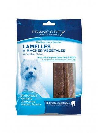 Zolux snack vegetale per l'igiene del cane di taglia piccola Francodex