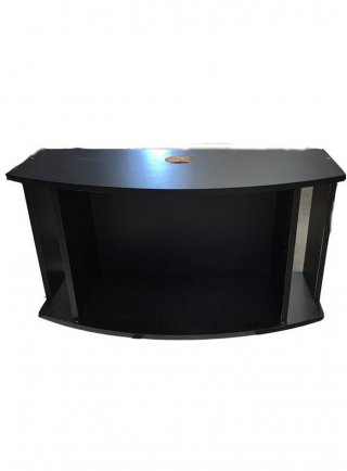 Supporto curvo aq 171 131x40/65x68h cm nero