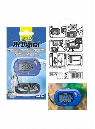 Tetra TH Digital Thermometer termometro digitale per acquario