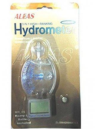 Hydrometer ALEAS con termometro digitale