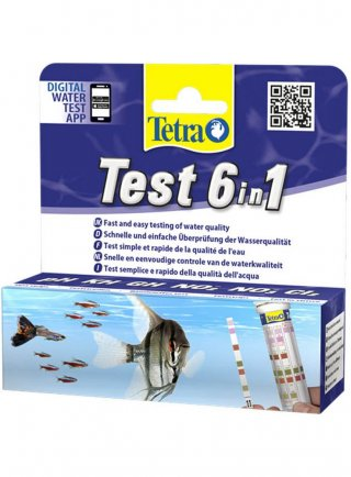 Tetra Test strips 6in1