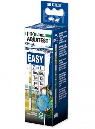 JBL Proaqua Easy Test 7 in 1 - 50 Strisce di misurazione valori acqua di acquari e laghetti