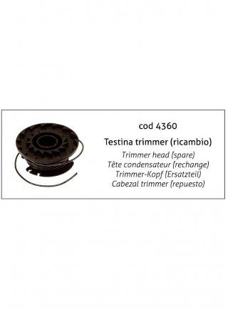 Testina per trimmer TR20 per cod.4340
