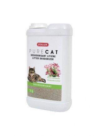 Zolux deodorante per lettiere gatto Pure cat lavanda caprifoglio 1 Lt