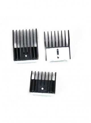 Set 3 pettini universali per tosatrici 5,9,13 mm