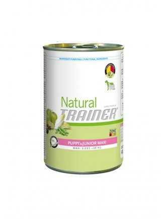 Trainer Natural Dog Puppy & Junior Maxi 400 GR