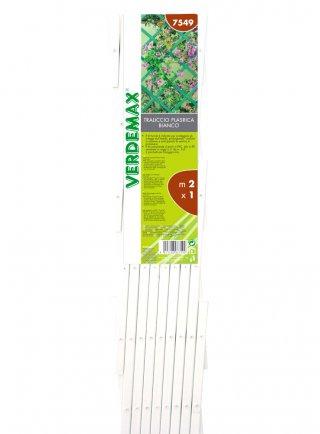Traliccio estensibile in PVC bianco marrore o verde