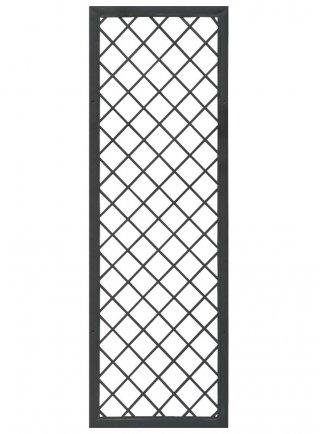 Traliccio fisso con cornice in metallo  colore antracite