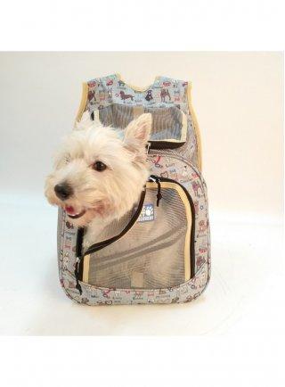 Borsa trasportino per cani e gatti SPRINGTIME Pettribe 54x33x24 cm