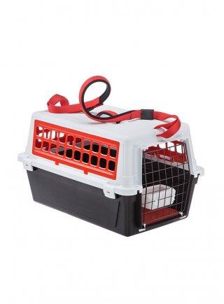 Trasportino per cani e gatti Ferplast ATLAS 20 TRENDY PLUS ROSSO