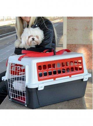 Trasportino per cani e gatti Ferplast ATLAS 20 TRENDY PLUS ROSSO o NERO