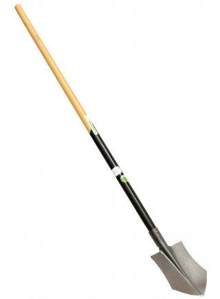 Vanghetto Slim cm 17x23 con manico in legno di faggio FSC lunghezza cm 130