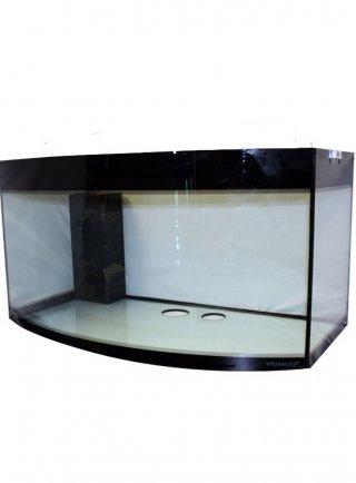 Vasca vitrea 55 curva 140x56x60h acquario 470 litri