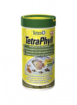 Tetra phyll mangime vegetale per pesci