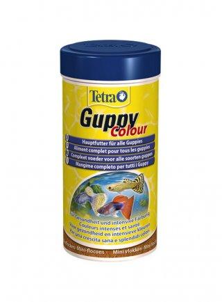 Tetra Guppy Color mini flakes