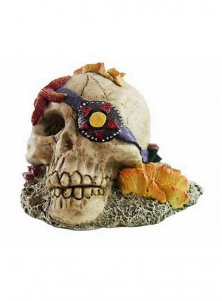 Decorazione per acquari e terrari Haquoss Koral Skull 2