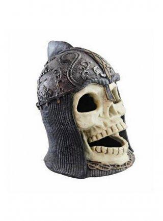 Decorazione per acquari e terrari Haquoss Medieval Skull