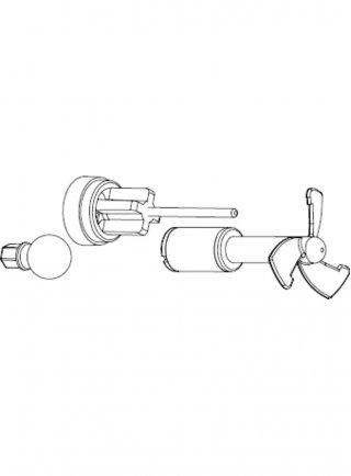Sicce Ricambio VOYAGER NANO 1000 Rotore + alberino in acciaio + gommini + o-ring + snodo