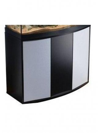 Vasca + Supporto tenerif sinuo 250 nero argento