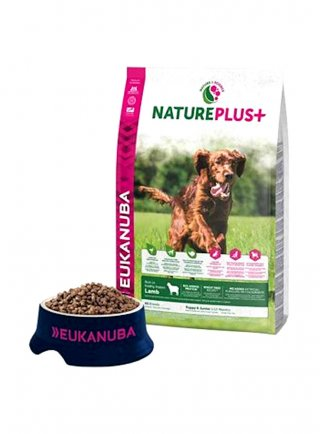 Eukanuba natureplus puppy agnello KG 2,3
