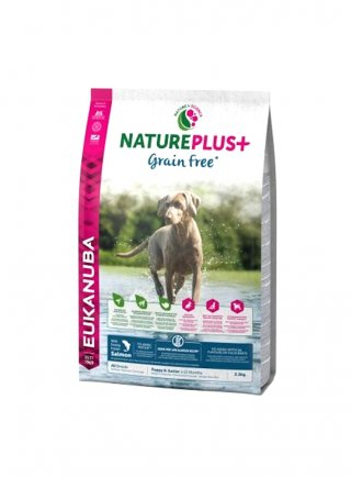 Eukanuba Nature Plus Grain Free Puppy Salmone KG 2,3