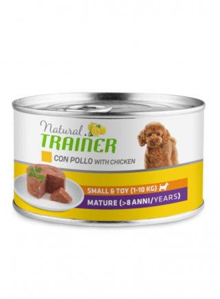 Trainer natural Dog Mature Small&Toy Pollo 24 x 150g