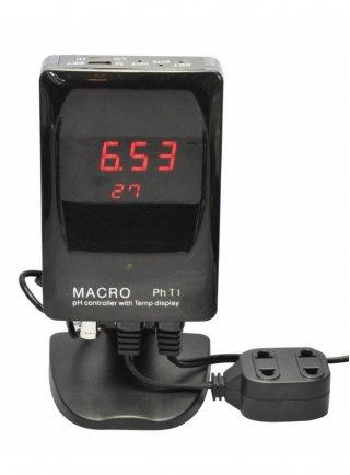 MACROAQUA - PH-METRO DIGITALE + CONTROLLO ELETTROVALVOLA