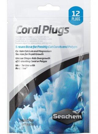 Seachem Coral Plugs Fondo per acquario