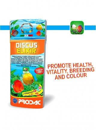 Prodac Discus Elixir Vitamine e minerali per discus
