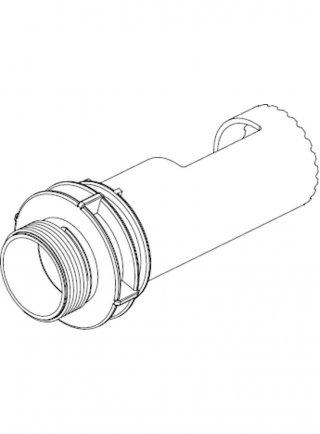 """Sicce Ricambio Eko Power Tubo interno 1"""" A½ M-gas"""