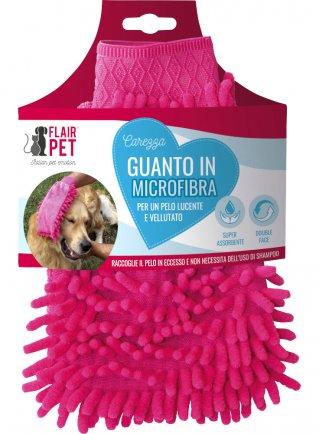 Flair pet guanto in microfibra coccole
