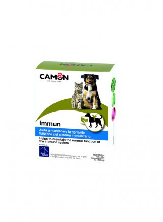 Camon IMMUN Mangime complementare per le difese immunitarie cane gatto1gr 60cpr