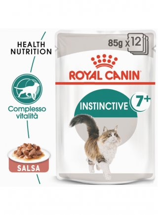 Instinctive 7+ buste gatto Royal Canin 12x85gr
