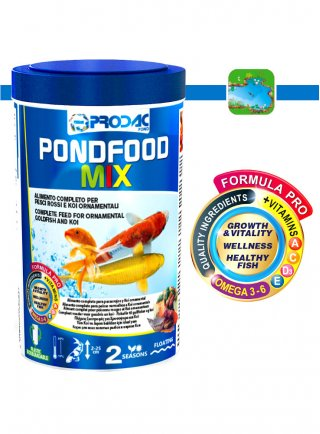 Prodac Pond Food Mix Mangime per pesci acquario