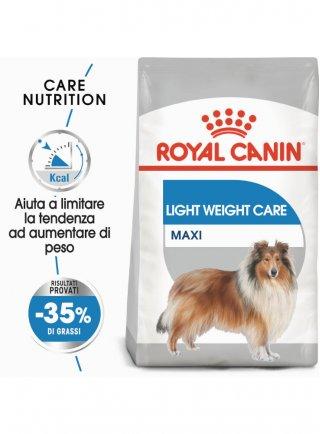 Maxi light WCare cane Royal Canin