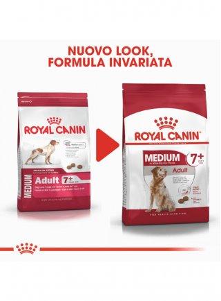 Medium Adult 7+ cane Royal Canin 15 kg