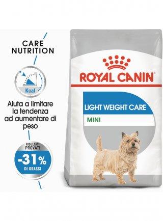 Mini Light WCare cane Royal Canin