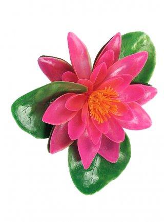 Ninfea galleggiante rosa cm 20x14