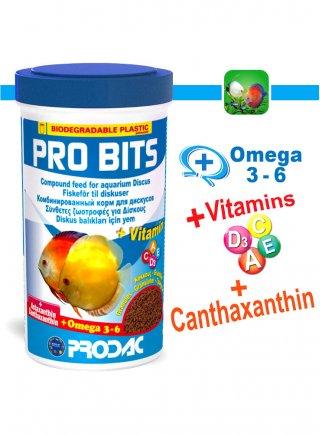 Prodac Pro Bits Alimento per pesci d'acquario in granuli